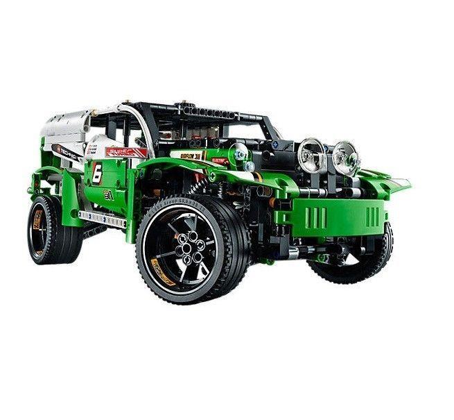 Lego Technic Race Car Authentic Building Block Toys Replica Model #LEGO