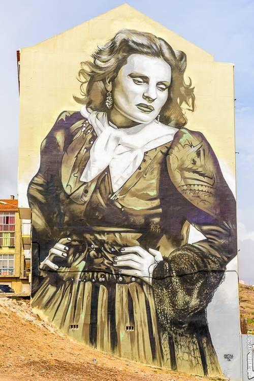 Grafiti na Amadora, Portugal by João Pauleta (Facebook)