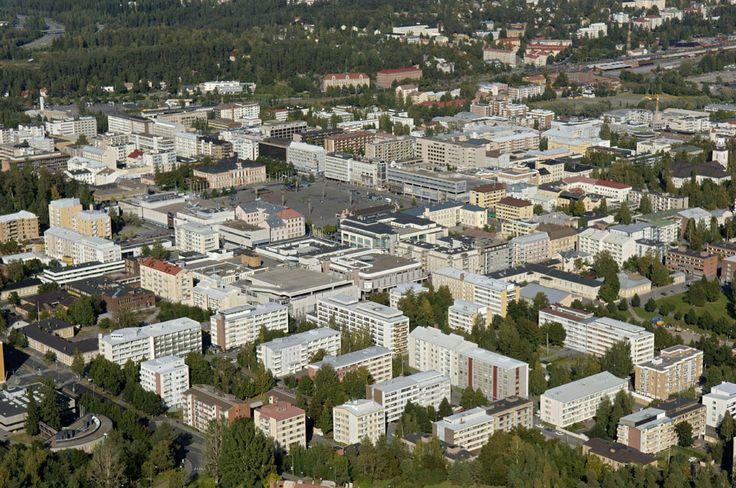Kuopio city centre