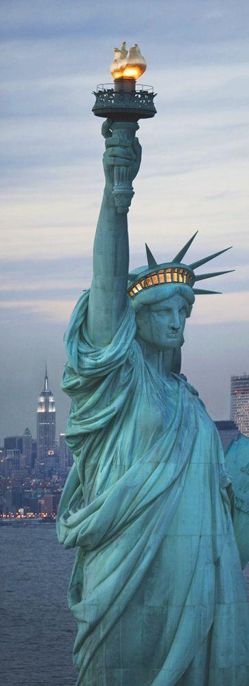 Statue of Liberty, New York, USA # creativelolo # Art # Travel # Photography # Illustrati