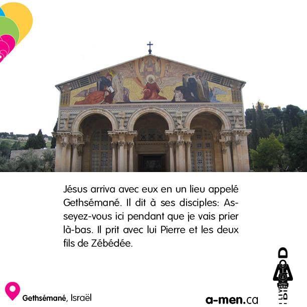 Gethsémané, Israël http://www.a-men.ca/ http://www.fb.com/a.men.ca #amen