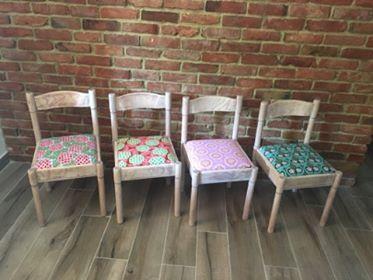 Metamorfoza krzesła, którą przeprowadziła pani Eliza z pomocą naszych tkanin