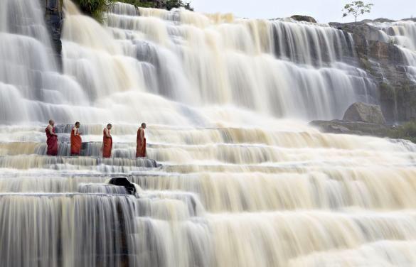 Pongour Falls Vietnam