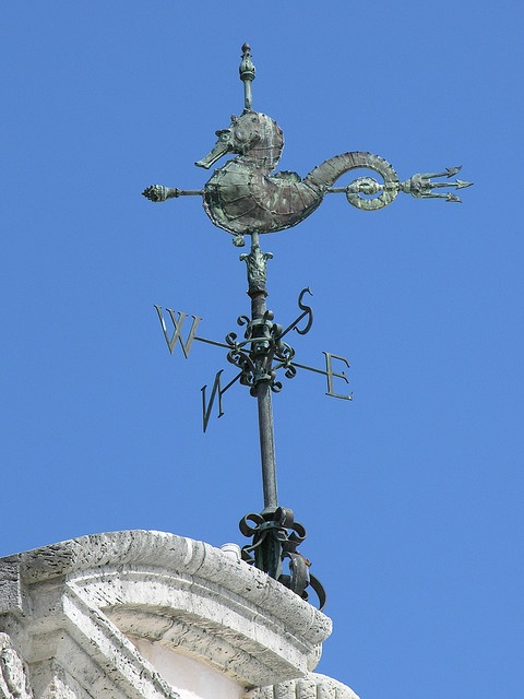 A cool weather vane at Vizcaya in Miami.