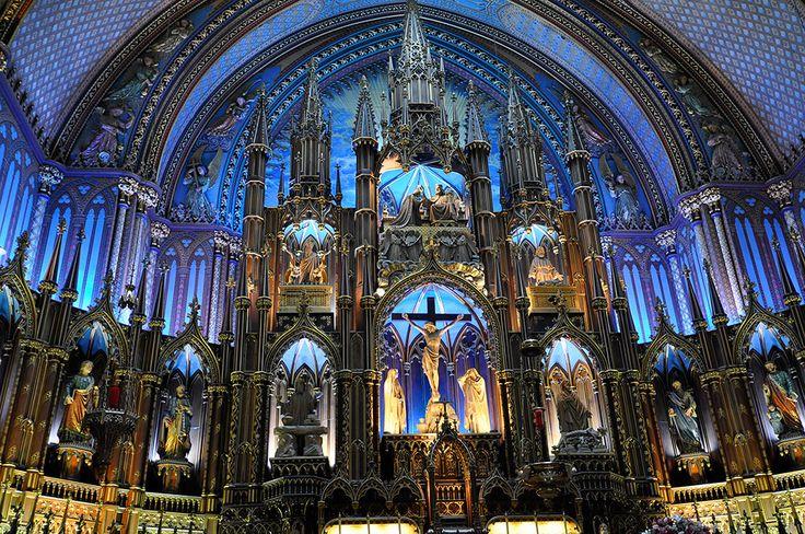 Собор Монреальской Богоматери, Монреаль, Канада, Северная Америка и Карибы
