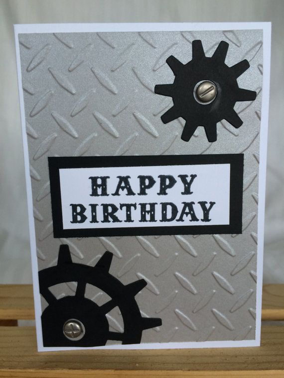 Best birthday card for Mr. Fix It by Myjourneytonew on Etsy
