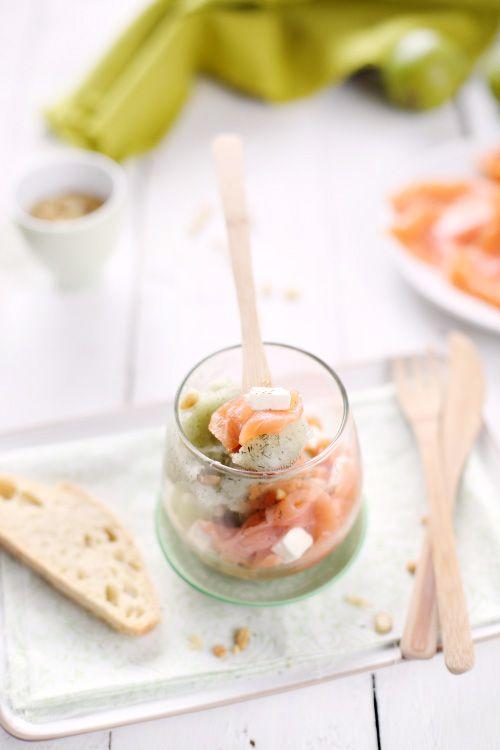 Le fait de transformer le concombre en sorbet (recette donnée il y a quelques jours) permet de profiter de sa saveur le reste de l'année et de présenter
