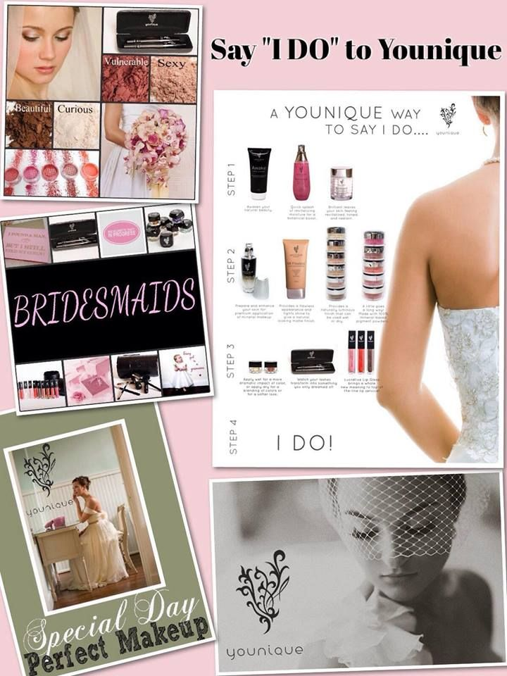 Do you know any brides?? Refer them to my page!!! Visit Http://3dlasheswithchrissynutter.com/ to order Younique makeup today! For chances to win FREE Younique Makeup and other cool prizes, get tips and DIY ideas visit my Facebook page, https://www.facebook.com/3Dlasheswithchrissynutter.