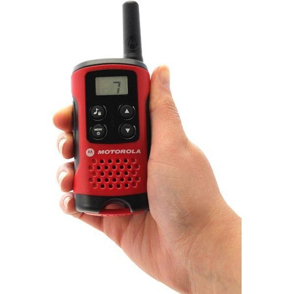 Motorola TLKR T40 Com-radio, 8 kanaler, opp til 4 km rekkevidde | Satelittservice tilbyr bla. HDTV, DVD, hjemmekino, parabol, data, satelittutstyr