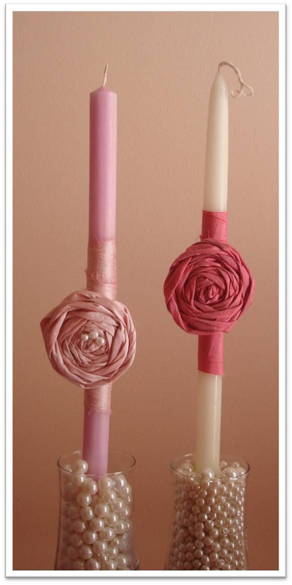 Handmade Easter Candles