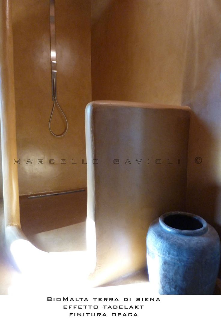Bagno stile Tadelakt : Bagno in stile mediterraneo di Marcello Gavioli