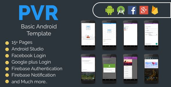 PVR Basic Android Template