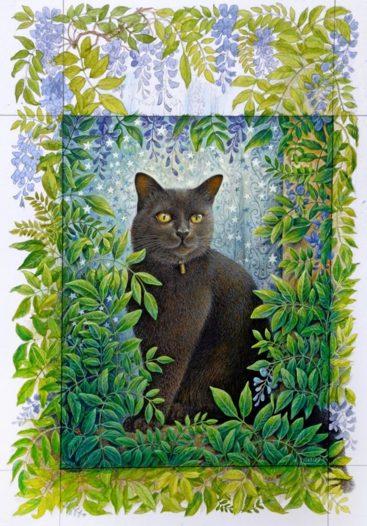 STARLIGHT   ALICE'S CAT by LESLEY ANNE IVORY