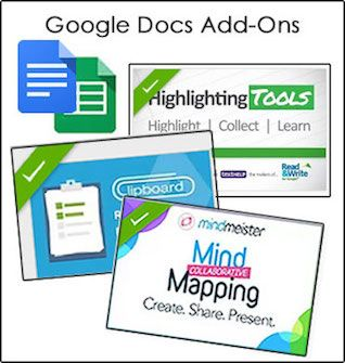 3 Useful Google Docs Add-Ons.  Google Docs Add-Ons are new tools created by 3rd party developers that add functionality to Google Docs. Users can access and search for Add-Ons through the menu bar in any Google Doc or Spreadsheet.