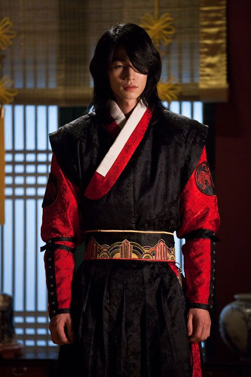 "Song Jae Rim / 송재림 ""Moon Embracing the Sun"" ... Um... Woon was pretty stinking amazing, too."