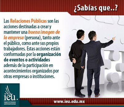 Relaciones Públicas - IEU