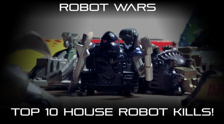 Top 10 House Robot Kills in Robot Wars
