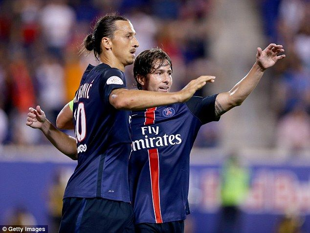 Maxwell says that Ibrahimovic's public image away from the football pitch 'does not conform to reality'