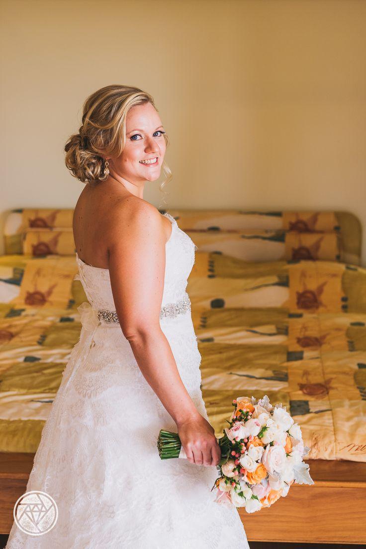 Ziva bride: lace layers with corset closure