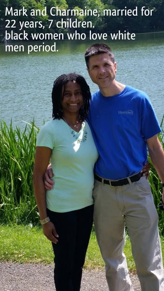 An amazing interracial couple that have not only survived the odds, they have thrived #love #wmbw #bwwm
