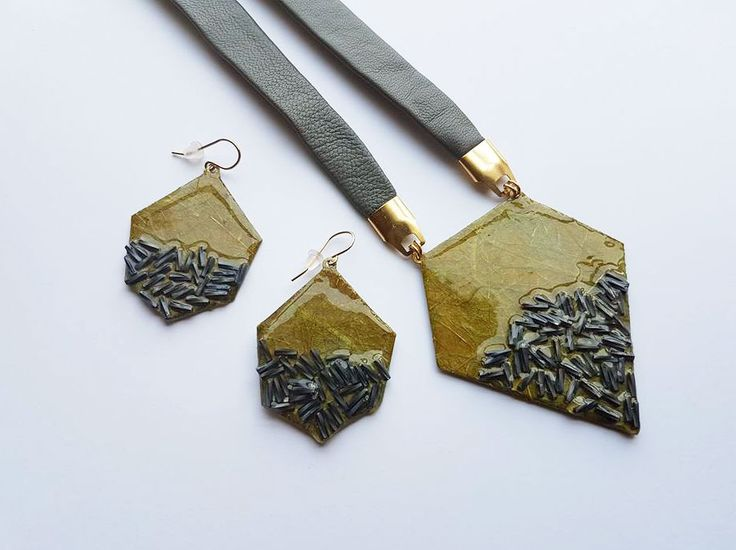 """Green Forest"" Jewelry Set"
