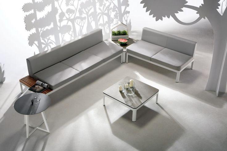 Renava Hydra Outdoor Grey Sofa Set