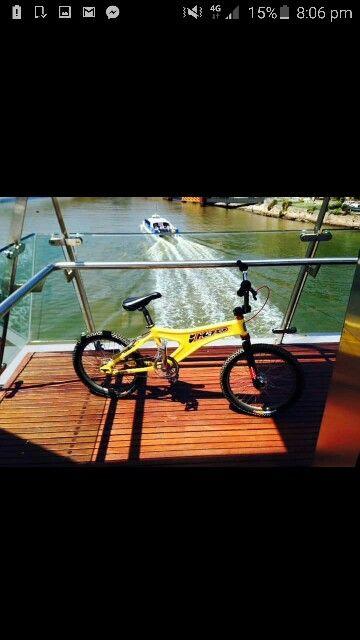Mono on Brisbane river