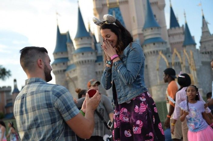 This real-life marriage proposal appeared on a Disney World commercial, and we have the adorable story behind it!