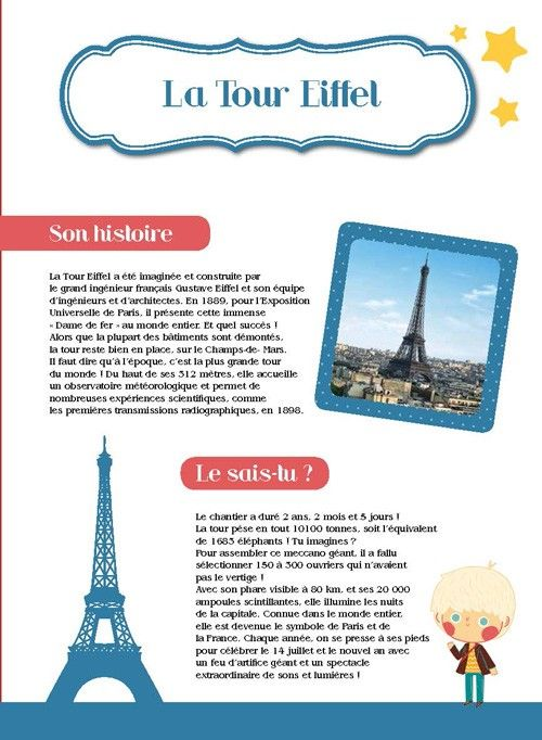 la tour Eiffel: