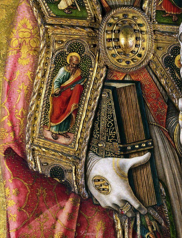 Карло Кривелли Алтарь Демидова Святой Петр 1476 Национальная галерея