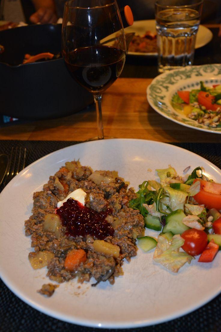 Köttfärsgryta med kål och rotsaker i Crock-Pot, Crock-Pot, recept Crock-Pot, nyttig köttfärsgryta, recept köttfärsgryta med kål och rotsaker