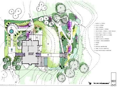 dibujo jardines diseño 08