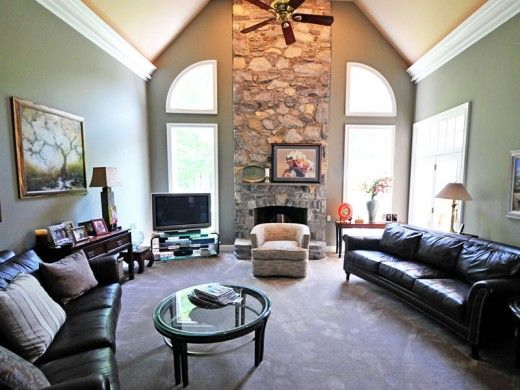 Fireplace farmhouse addition pinterest room Great room additions