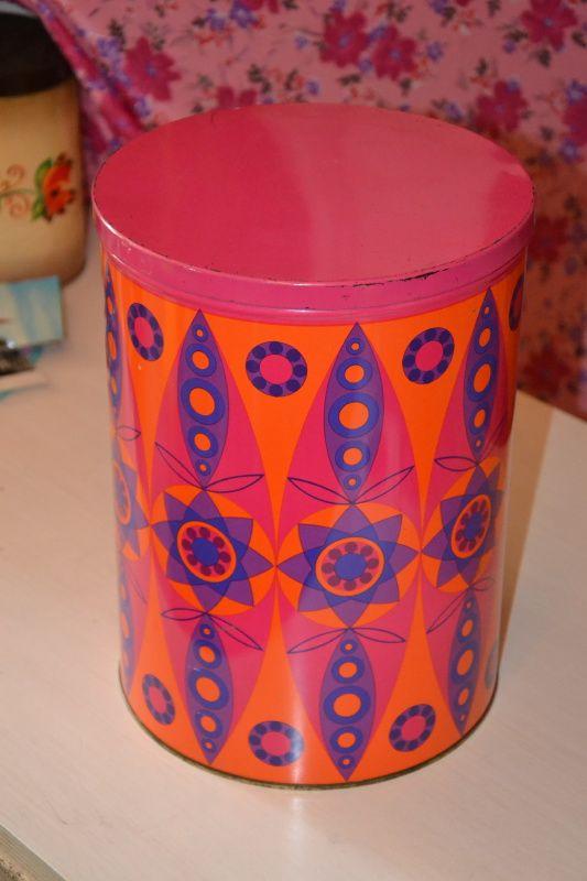 Tomado Paars / Oranje blik, 24cm hoog
