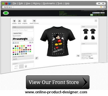 Known as the worldwide provider to the elite product designing tools like Online T-shirt Design Tool, iPod Skin Design Tool and Online Button Design Software, Online-Product-Designer offer the high amount of inimitability at the product designs.