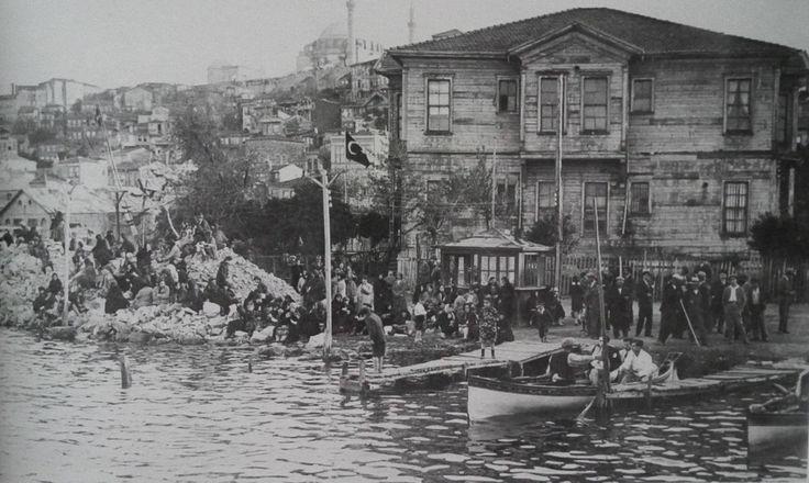 Eski İstanbul Fotoğrafları Arşivi — Fener İskelesi