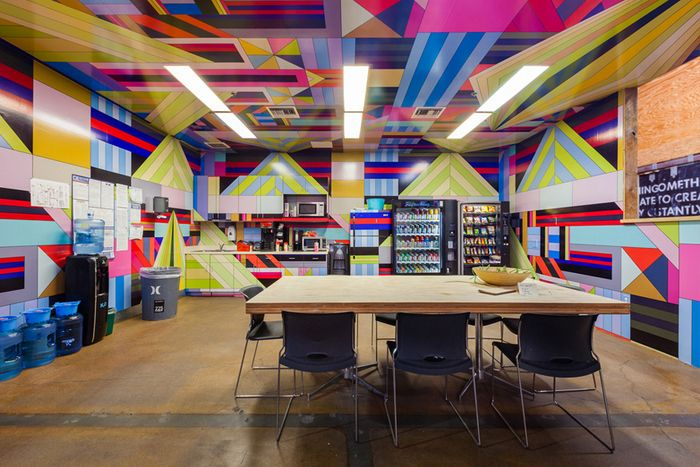 9 Awesome Examples Of Offices That Wear Their Brand With Pride   Turnstone