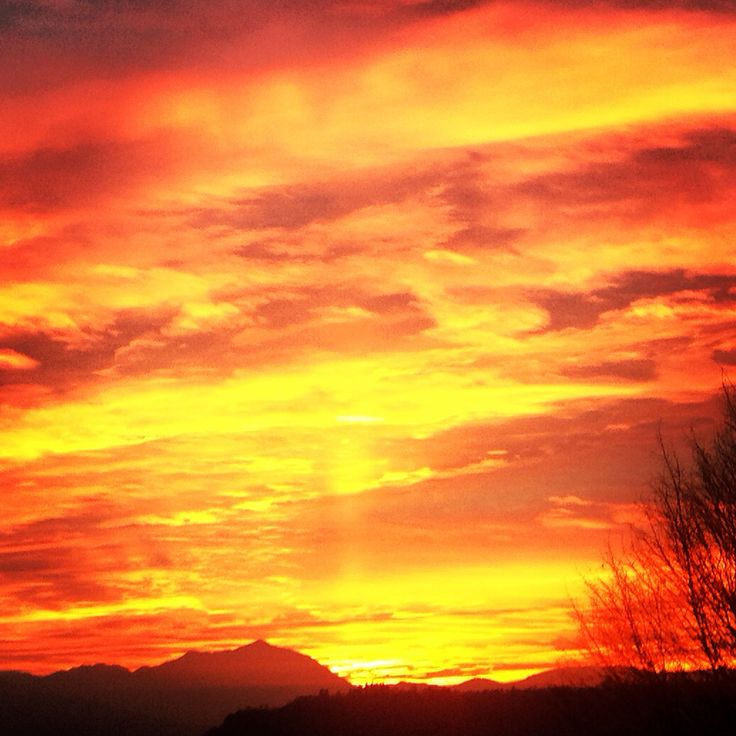 Sunset in Piave Valley 3