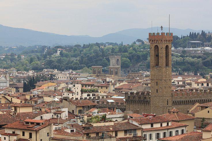 Firenze (Italy)-Campanile di Palazzo vecchio
