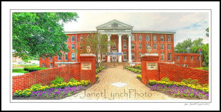Danville VA Virginia - Averett University - Main Hall - College - Fine Art Photography prints by Janet Lynch by ArtGalleryRiverRd on Etsy