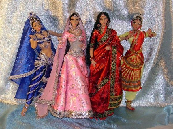 Восточные куколки Индианки.