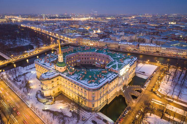 Михайловский замок — National Geographic Россия