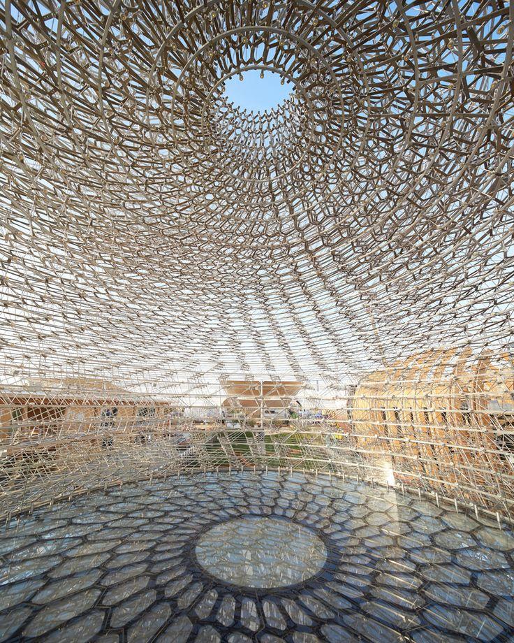UK pavilion expo milan 2015 wolfgang buttress interview designboom