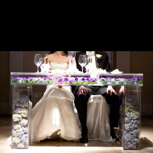 Plexi Glass Shadow Box Bride And Groom Table Google Images