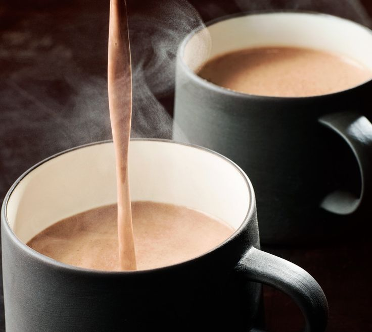 The addition of an anise-flavored liqueur turns this hot cocoa into the liquid version of chocolate-covered licorice.