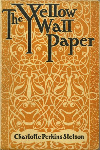 """Based on the author's own experiences, The Yellow Wallpaper is the chilling tale of a woman driven to the brink of insanity by the """"rest cure"""" prescribed after the birth of her child. Isolated in a crumbling colonial mansion, in a room with bars on the windows, the tortuous pattern of the yellow wallpaper winds its way into the recesses of her mind."""