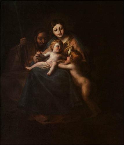 The Holy Family - Francisco Goya