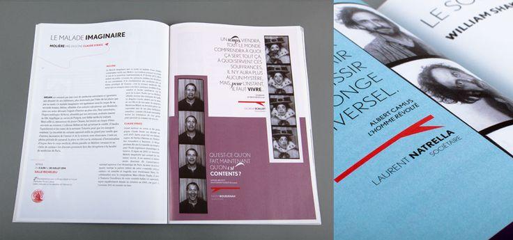 Comédie-Française - Brochure 2013-2014 (pages spectacles)