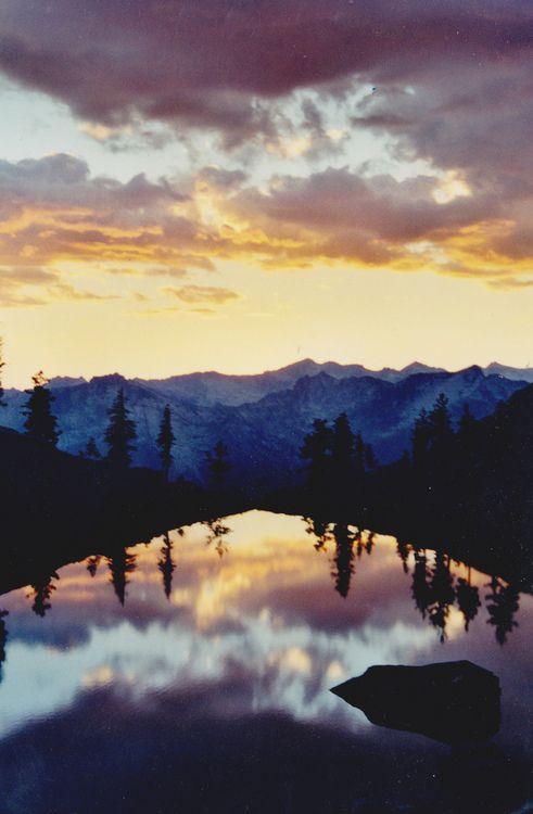 Echo Lake, Trinity Alps | California