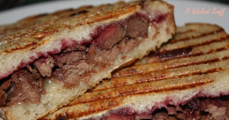 Moose and Partridgeberry Panini
